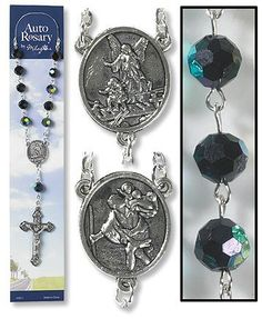 Gifts of Faith Auto Rosary for Car Truck or SUV Crystal Amethyst. Description: Amethyst Auto Rosary mm Crystal AB Bead/Silver Plate L with Clasp,. Amethyst Crystal, Crystal Beads, Gift Of Faith, Thing 1, Saint Christopher, Christian Gifts, Crucifix, Blue Crystals, Car Accessories