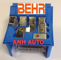 awesome OEM Behr Brand Blower Motor Resistor For BMW E30 E36 64111375755 - For Sale