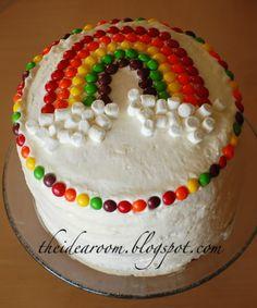 How To Make a Rainbow Birthday Cake - Novelty Birthday Cakes Novelty Birthday Cakes, Birthday Cake Girls, 3rd Birthday, Barbie Birthday, Birthday Ideas, Rainbow Layer Cakes, Cake Rainbow, Rainbow Food, Rainbow Theme