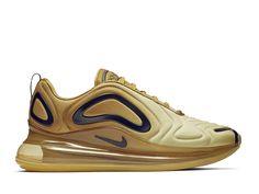 new concept 45d71 ca826 Official Nouveau Nike Air Max 720 Coussin Dair Chaussures De Course Pas  Cher Hommes Désert Noir