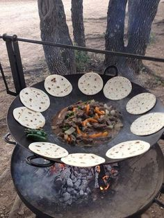 How To Make A Plow Disk Wok For Camping