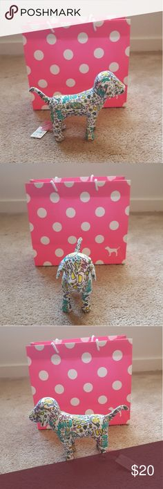 PINK Victoria's Secret Graffiti Dog BNWT!!! Plush PINK dog in a pretty graffiti pattern!  Brand new with tag attached.    Check out my closet for more PINK items! 💋 PINK Victoria's Secret Other