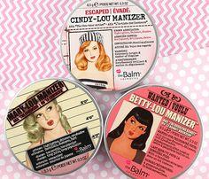 theBalm Cindy-Lou Manizer, Betty-Lou Manizer, and Mary-Lou Manizer