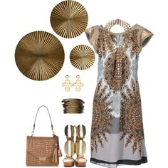 """Medallion"" by musicfriend1 on Polyvore"