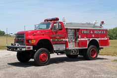 Truck 471 now carries a 4-bottle cascade system and a 12kw generator. Description from indianafiretrucks.com. I searched for this on bing.com/images