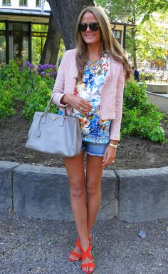chanel casual look