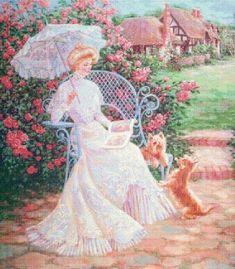 900 Cross stitch patterns WOMEN beautiful GIRL ladies Dame