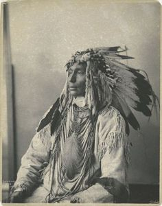 Kill Spotted Horse of the Assiniboines, c. 1898