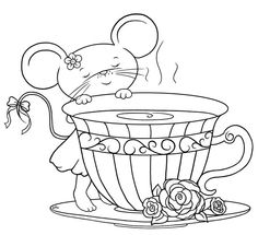 tea cup stamps - Google otsing