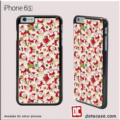 Santa Clause Pattern For Iphone 6/6S Case