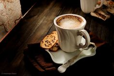 Photo Coffee Latte with cookies.... by Hooman Mesri on 500px