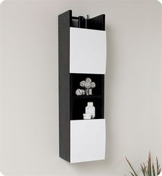 Give your bathroom a facelift with this Fresca bathroom linen cabinet.