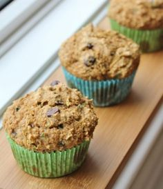 Kid Tested, Kid Approved Chocolate Chip Zucchini Muffins by Healthy Girl's Kitchen