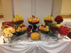 Fruit Buffets - Fruit Buffet Edible Fruit