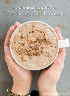 MEDICINAL MUSHROOMS 101 - how to use them, the health benefits and why they're so great for you! Simply Quinoa #medicinalmushrooms #adaptogens #simplyquinoa