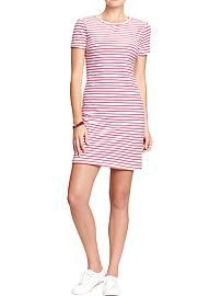 Women's Fitted Tee Dresses