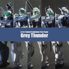Thunder Team, Gunpla Custom, Mecha Anime, Msv, Armor Concept, Gundam Model, Team S, Mobile Suit, Battleship
