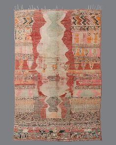 vintage Moroccan rug, Boujad #BJ10