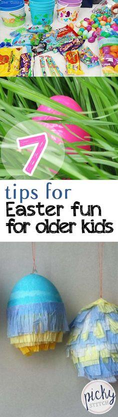 7 Tips For Easter Fun For Older Kids -