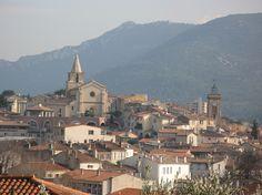 Aubagne, the village