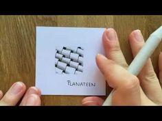 "Zentangle® Muster: ""Planateen"" with Bunte Galerie | VideoTangle.me"