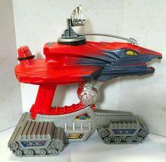 80s Vintage He Man Vehicle - MOTU Blaster Hawk Gun FREE SHIPPING by AntiquesRevived on Etsy