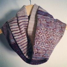 Ravelry: Circadian Cowl pattern by Erica Heusser