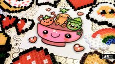 How To Draw a Salad - Easy and Kawaii Drawings by Garbi KW - tomato, car...
