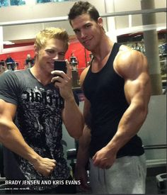 BRADY JENSEN AND KRIS EVANS