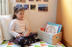 rincón calma, mesa paz montessori para la regulación y educación emocional, cuentos
