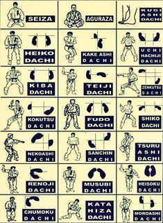 Shotokan karate stance terminology and foot placement Martial Arts Quotes, Martial Arts Styles, Martial Arts Techniques, Martial Arts Workout, Martial Arts Training, Mixed Martial Arts, Shotokan Karate, Kyokushin Karate, Goju Ryu Karate