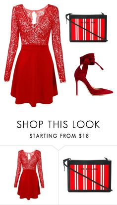 red by tekla-kowalczyk on Polyvore featuring moda, Gianvito Rossi and Balenciaga