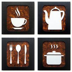 Rustic Restaurant Interior, Cafe Interior Design, Cafe Design, Creative Wall Decor, Creative Walls, Wall Art Decor, Rustic Coffee Shop, Coffee Shop Design, Wood Pallet Art