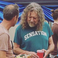 Robert Plant photographed today at Lockn' Festival in Arrington, Virginia <3