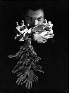Orson Welles por Cecil Beaton