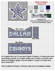 164 Best Dallas Cowboys Plastic Canvas Images In 2017