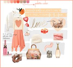 Today, Valentine's Day Look http://graficscribbles.blogspot.it/2014/02/Polyvore-look-san-valentino.html