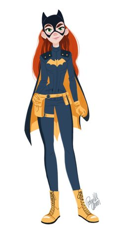 Ah! Batgirl! She was my favorite superhero when I was little! (Well, her and Spiderman...)