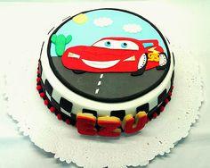 Tortas - Ambientaciones de Azucar - Rayo McQueen - Cars