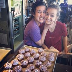 Baristas having too much fun! #cupcakempls