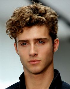Hispanic Man With Long, Curly Hair   Hairstyles   Pinterest   Hispanic Men,  Long Curly Hair And Long Curly