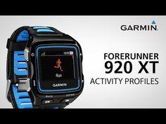 Garmin Forerunner 920XT: Creating a Triathlon Profile - YouTube