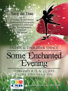Father Daughter dance in Elk Grove this Friday night!