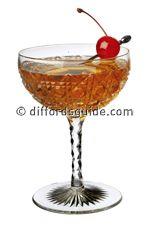 RAC:  2 ounces gin 1 ounce dry vermouth 1 ounce sweet vermouth ⅛ ounce grenadine 1 dashes orange bitters