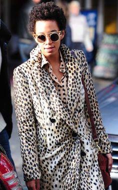 Solange in Brooklyn.