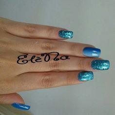 Azzurro glitter blu azzurro shade