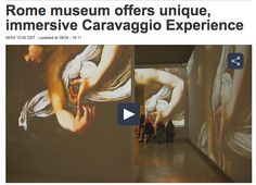 CARAVAGGIO EXPERIENCE created by THE FAKE FACTORY  #caravaggioexperience #caravaggio #thefakefactory #stefanofake #immersiveartexperience #videoarte #immersiveexperience #videoart #palazzoesposizioni #roma #rome #videomapping