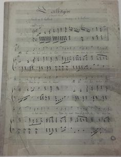 Partitions de Jules (1839 - 1909) et Noël Laffont (1870 - 1937) Partitions, Sheet Music, Wednesday, Music Sheets