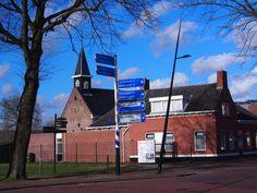 in het dorp Surhuisterveen. Friesland