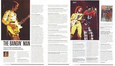 Jim Lea #2016 #bassguitarmagazine #2 Slade Band, Noddy Holder, Guitar Magazine, Comic Books, Cover, Movie Posters, Film Poster, Popcorn Posters, Comic Book